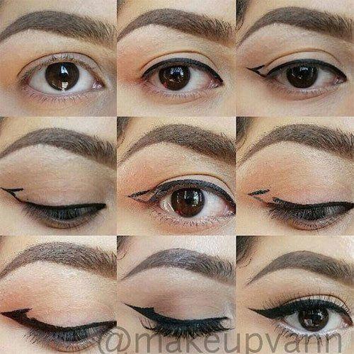 Eyeshadow for hooded eyes tutorial