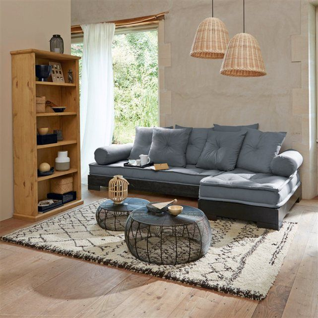 table basse ronde acier filaire lot de 2 bangor la redoute interieurs achat la redoute. Black Bedroom Furniture Sets. Home Design Ideas