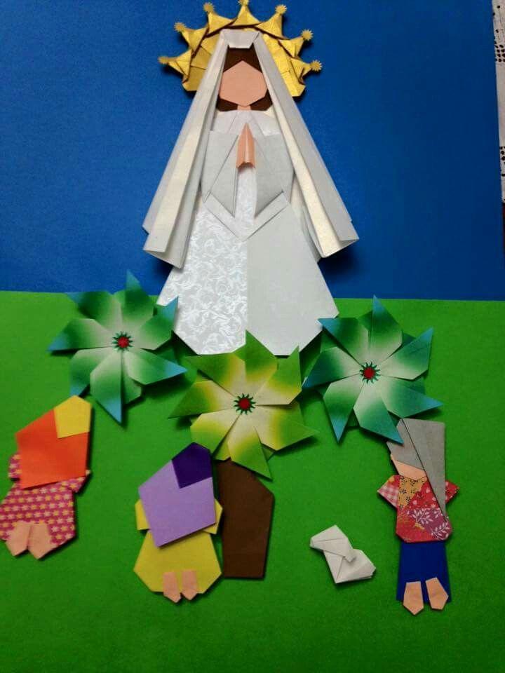 Santos de Casa   Origami   Pinterest   Santos, Virgencita y Virgen ...
