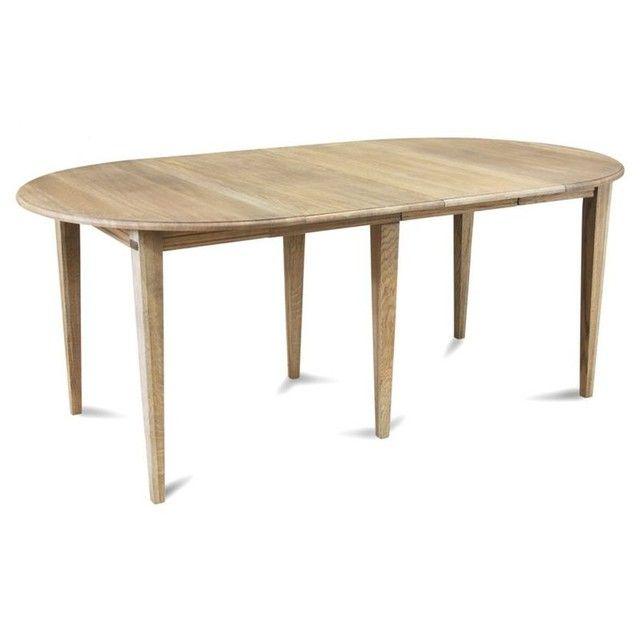 Ensemble Table Ronde Victoria 6 Pieds Fuseau 115 Cm 3 Rallonges Bois Hellin Depuis 1862 Table Et Chaises Table Table Bois