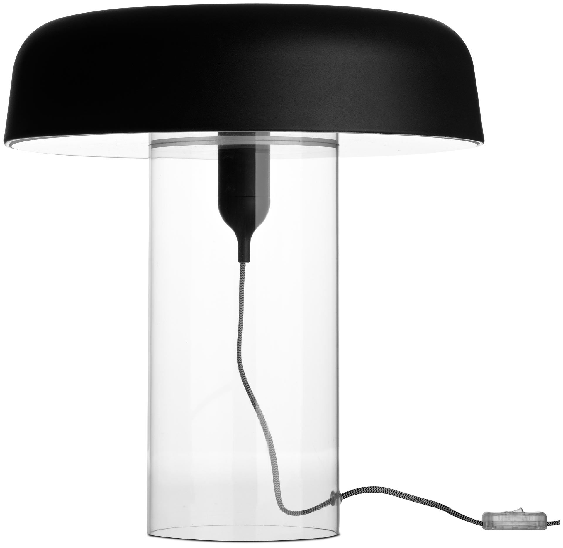 boconcept goble lampe de table design avec un pied transparent modern modern table lamps. Black Bedroom Furniture Sets. Home Design Ideas