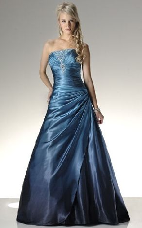picture of baby blue strapless prom dress | Colorado Wedding Venues ...