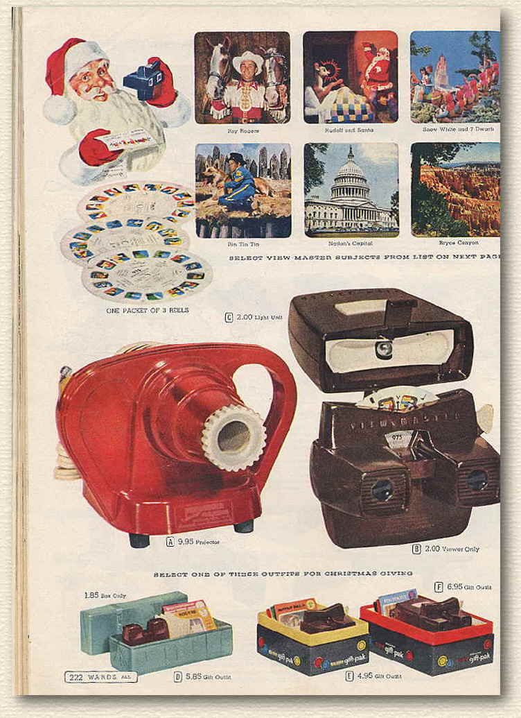 1950s Toys View Master We Had The Old Model Black One