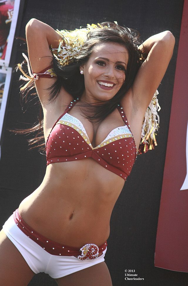 nude cheerleaders Washington redskins