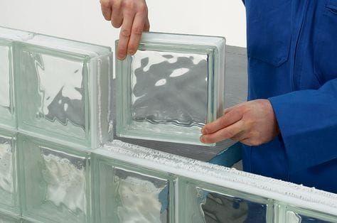 monMonter une cloison en briques de verre Decoração luxu Pinterest