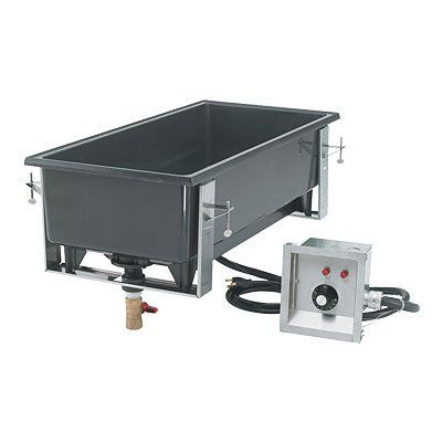 Vollrath 72109 Cayenne Drop In Warmers Small Dining Table Efficient Heating Metal Countertops