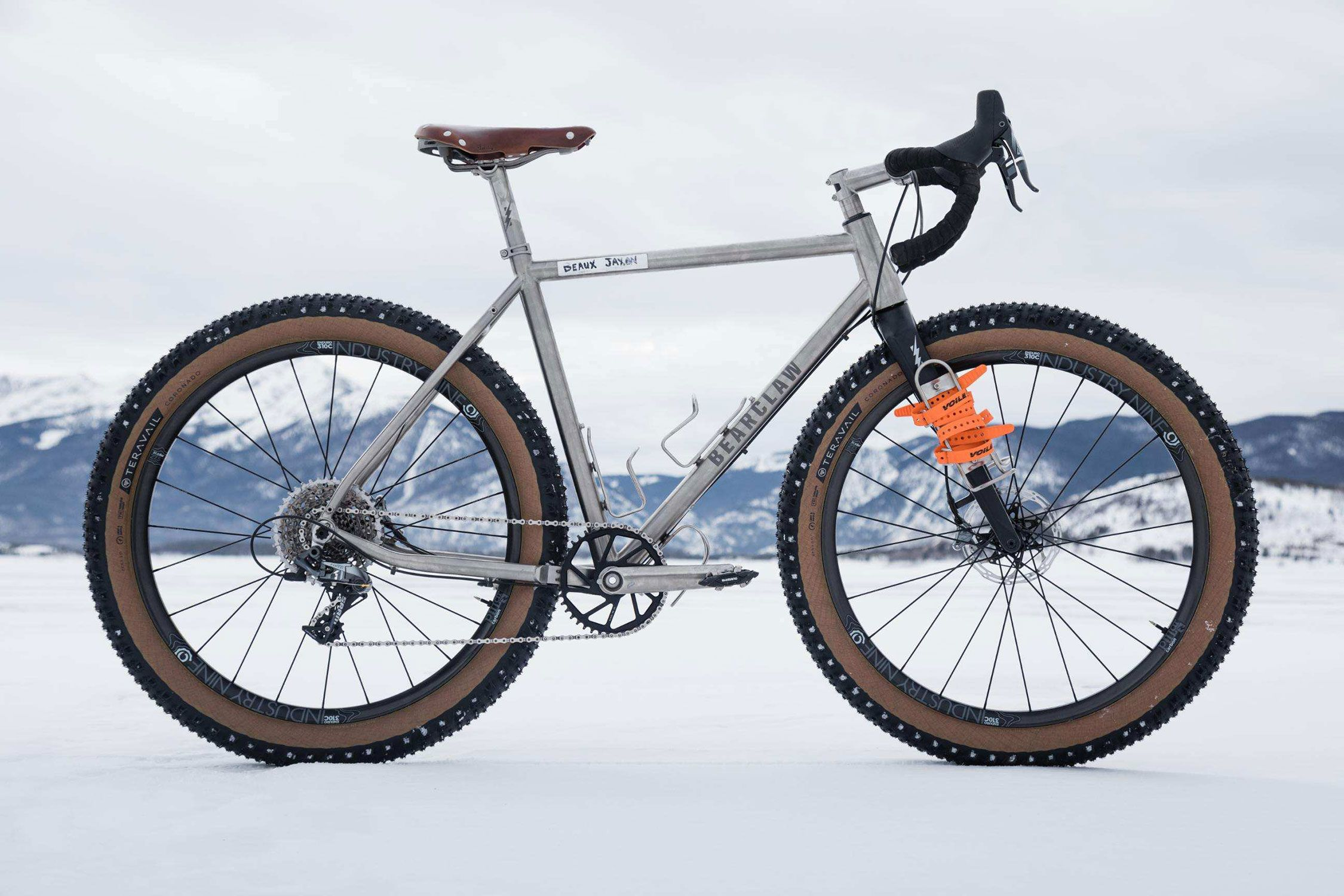 Bearclaw Beaux Jaxon Titanium Gravel Plus Bike Mountain Biking