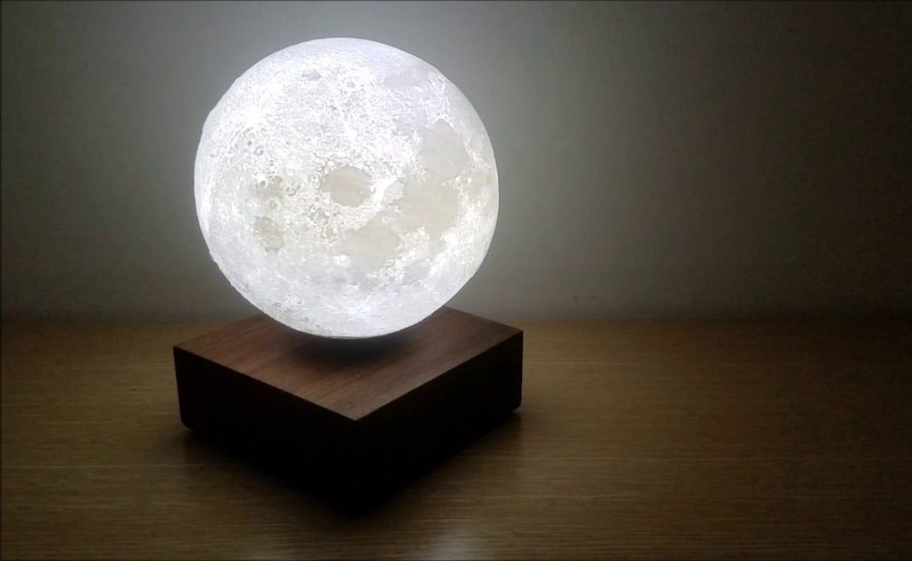 Levimoon Levitating Moon Light Industrial Table Lamp Lamp Levitation
