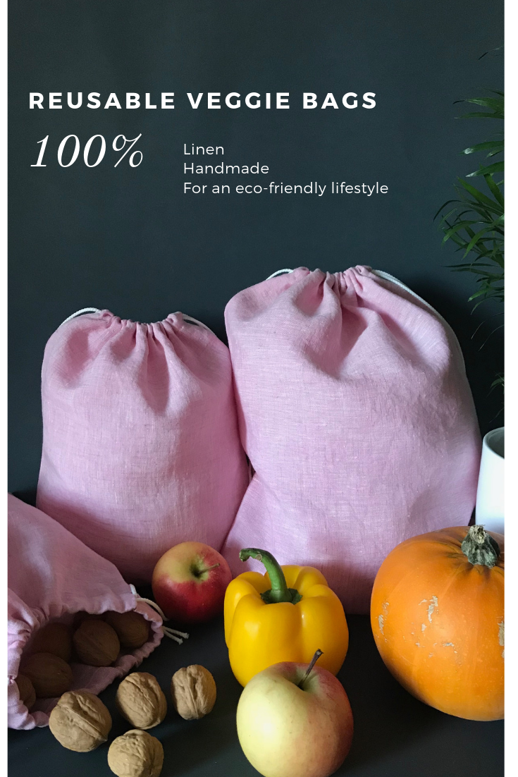 Our Zero Waste Reusable Produce Bags Are Ideal Choice For Eco Minded Pers The