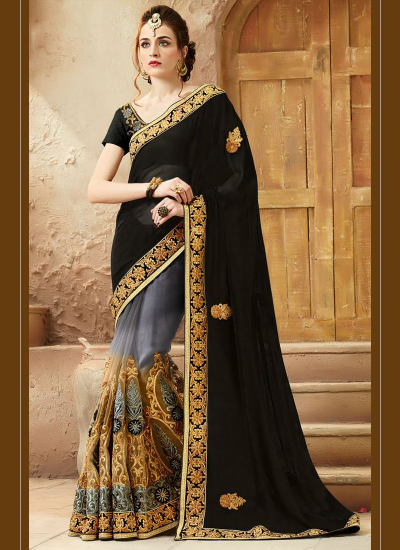 http://www.sareesaga.in/index.php?route=product/product&product_id=30423 Style:Designer Saree Shipping Time:10 to 12 Days Occasion:Wedding Bridal Fabric:Net Viscose Colour:Black Catalog No.: Work:Embroidered Patch Border Work For Inquiry Or Any Query Related To Product, Contact :- +91-72850 38915, +91-7405449283