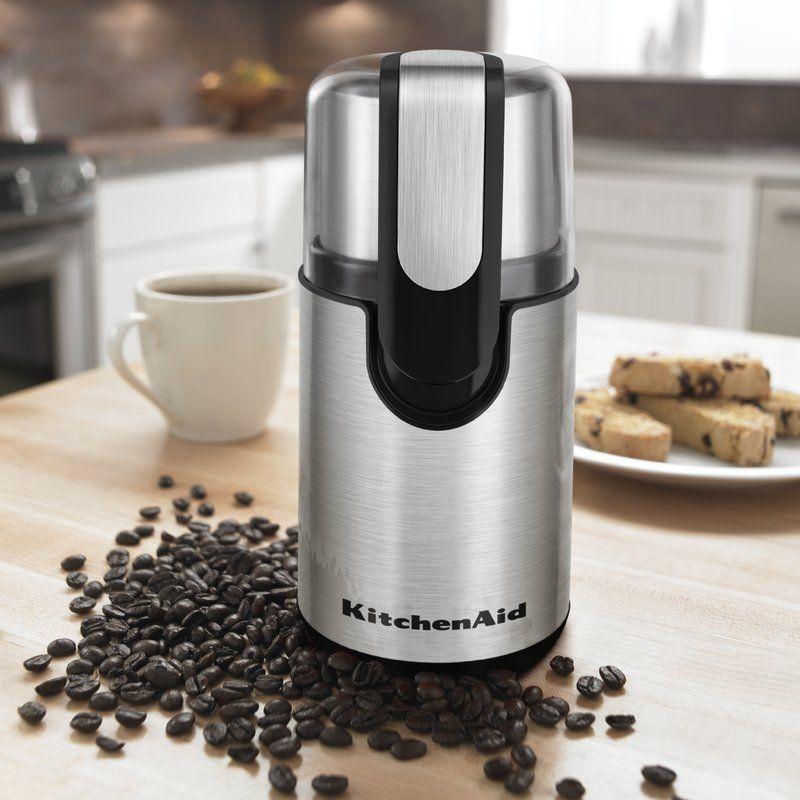 Kitchenaid electric blade coffee grinder in 2020 kitchen