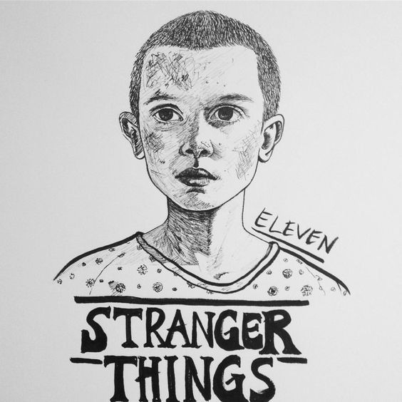 Resultado de imagen para eleven dibujo stranger things