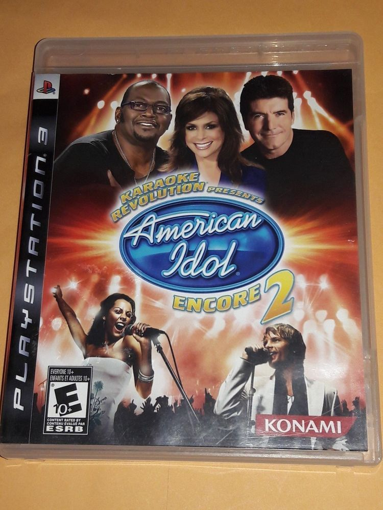 American Idol Encore 2 Playstation 3 Ps4 Gaming Video American Idol Karaoke American Idol Judges