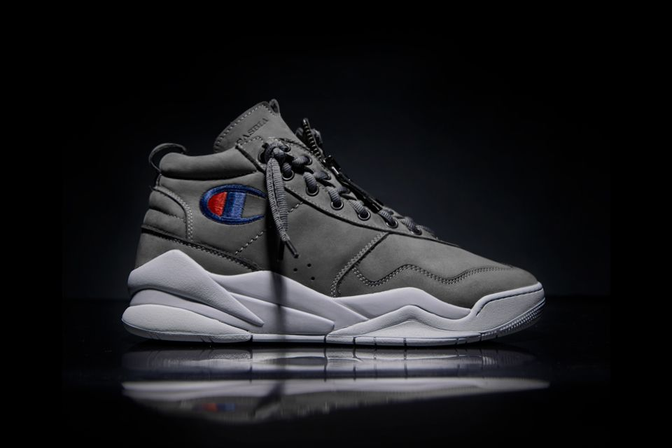 d10dc204a579 This Casbia x Champion Basketball Sneaker Is Next-Level Luxury ...