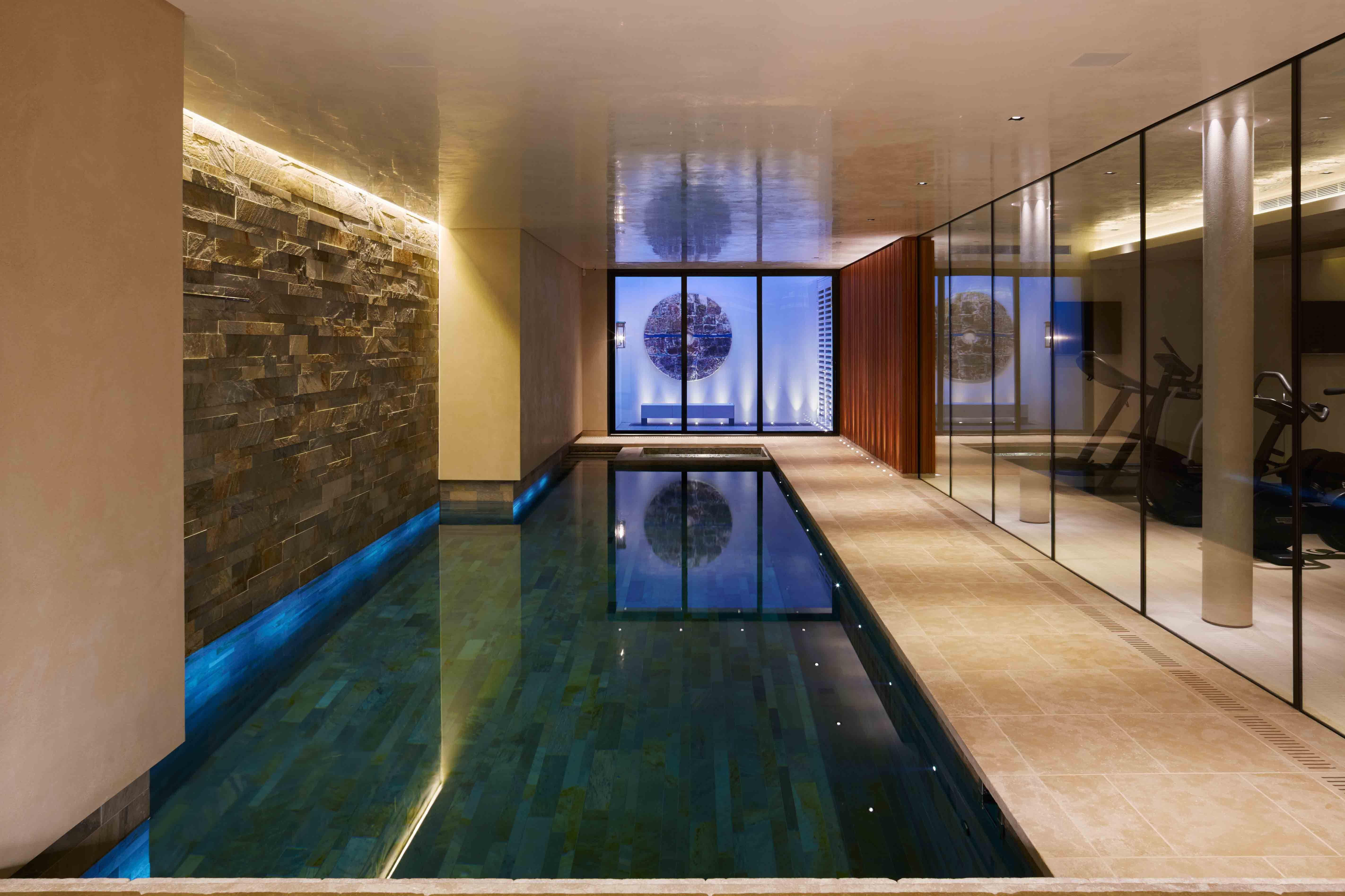 Swimming Pool Lighting Design By John Cullen Lighting