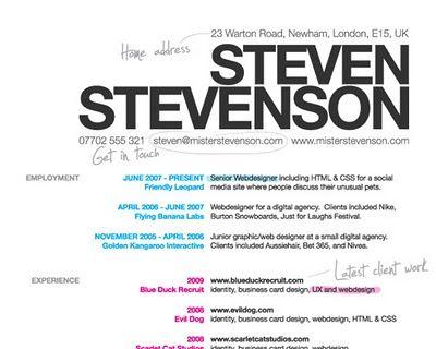 300 Most Creative Cv Resumes Examples Templates Tutorials Design Inspiration Psd Collector Infographic Resume Web Designer Resume Resume Design