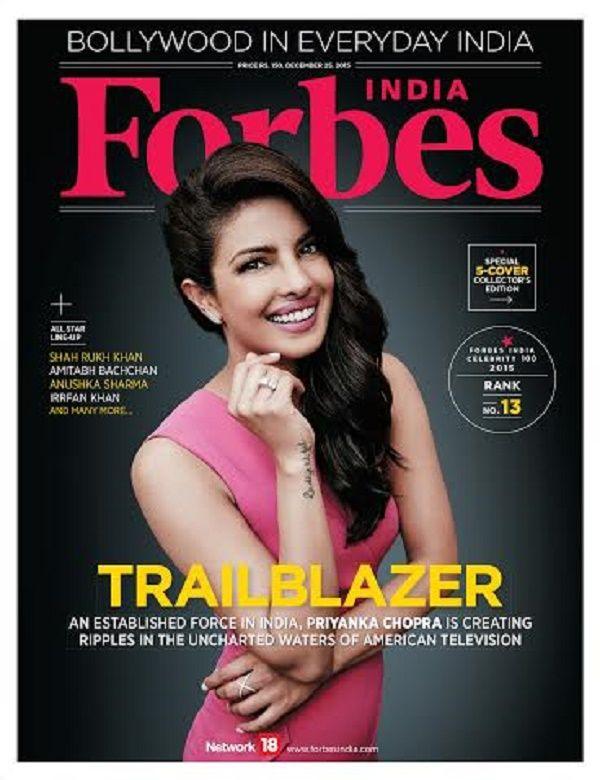 Priyankachopra On Forbes Magazine Cover Priyanka Chopra Forbes Cover Forbes Magazine Cover