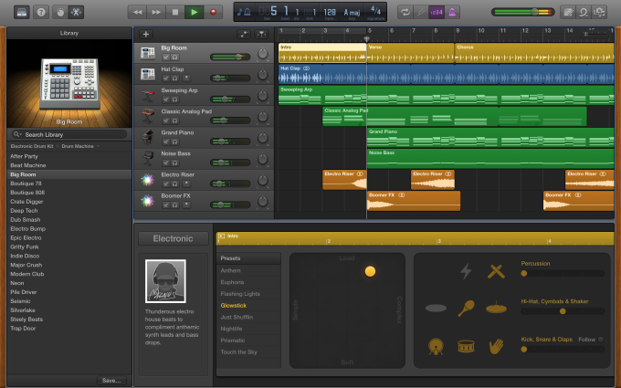 Apple Updates GarageBand With Force Touch Support And New