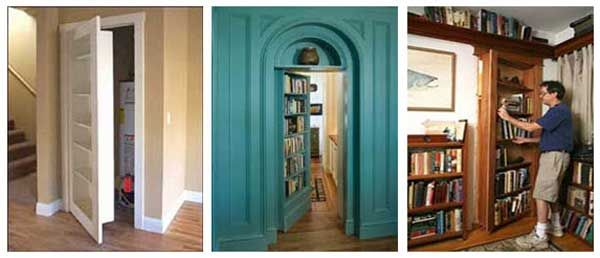 Hidden doors with bookcases & Hidden doors with bookcases   For the Home   Pinterest   Doors ...