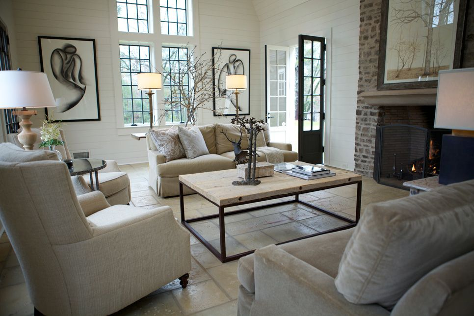Inspiring picture for family room in the addition. (Richard Tubb Interiors.)