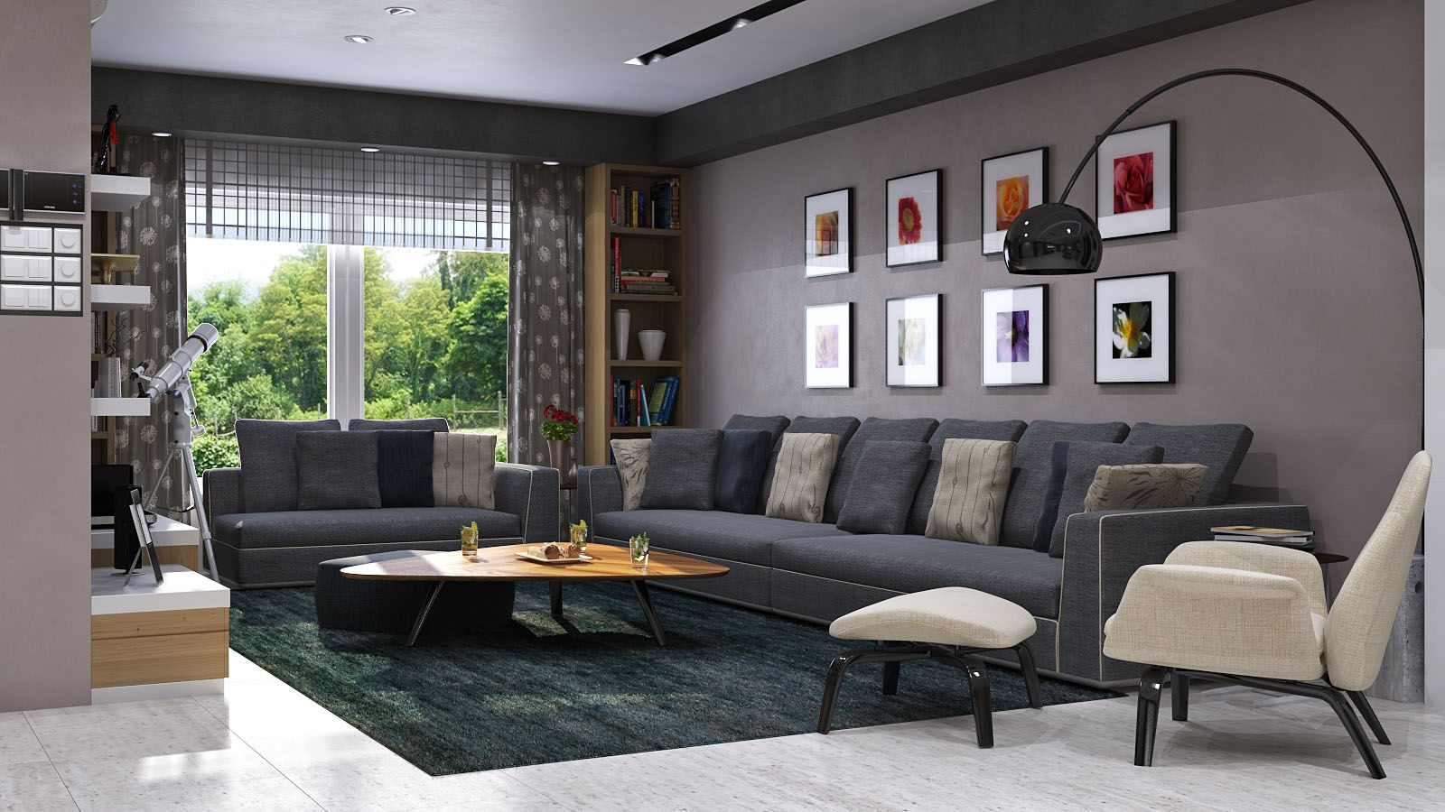 Living room: Cool gray living room ideas Gray Living Room