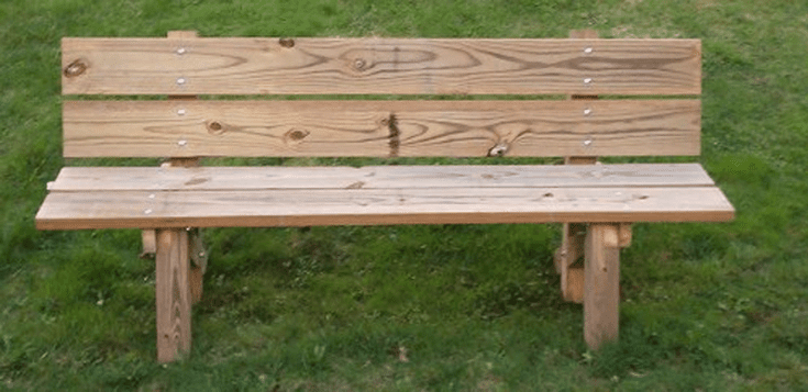Build A Beautiful Bench With These Free Diy Woodworking