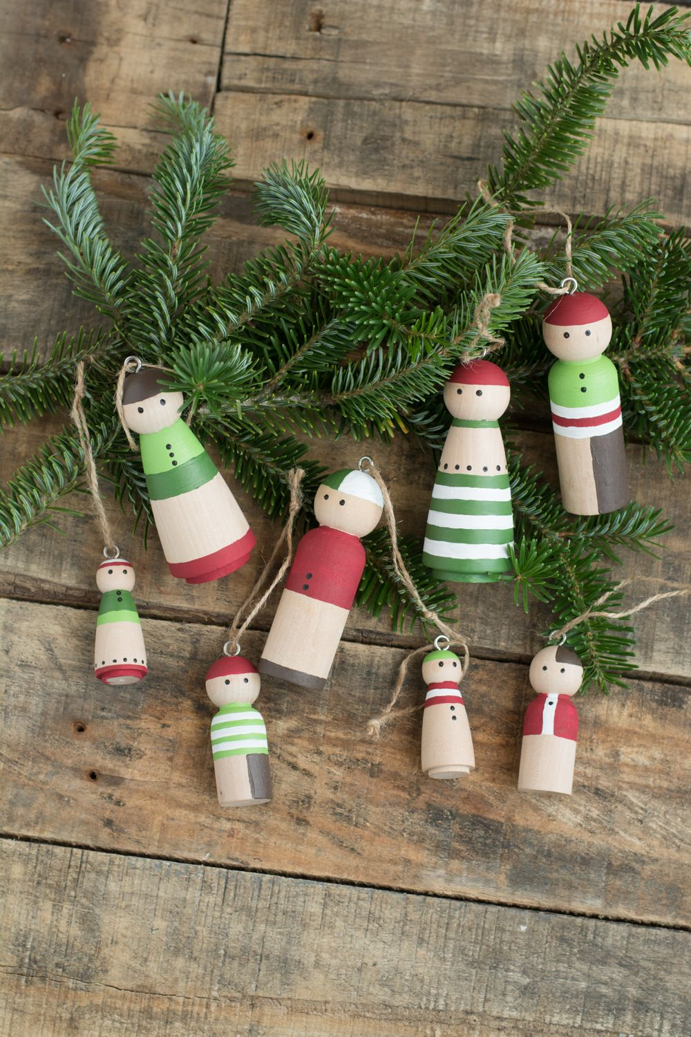 DIY Time Craft Your Own Little Family of Ornaments