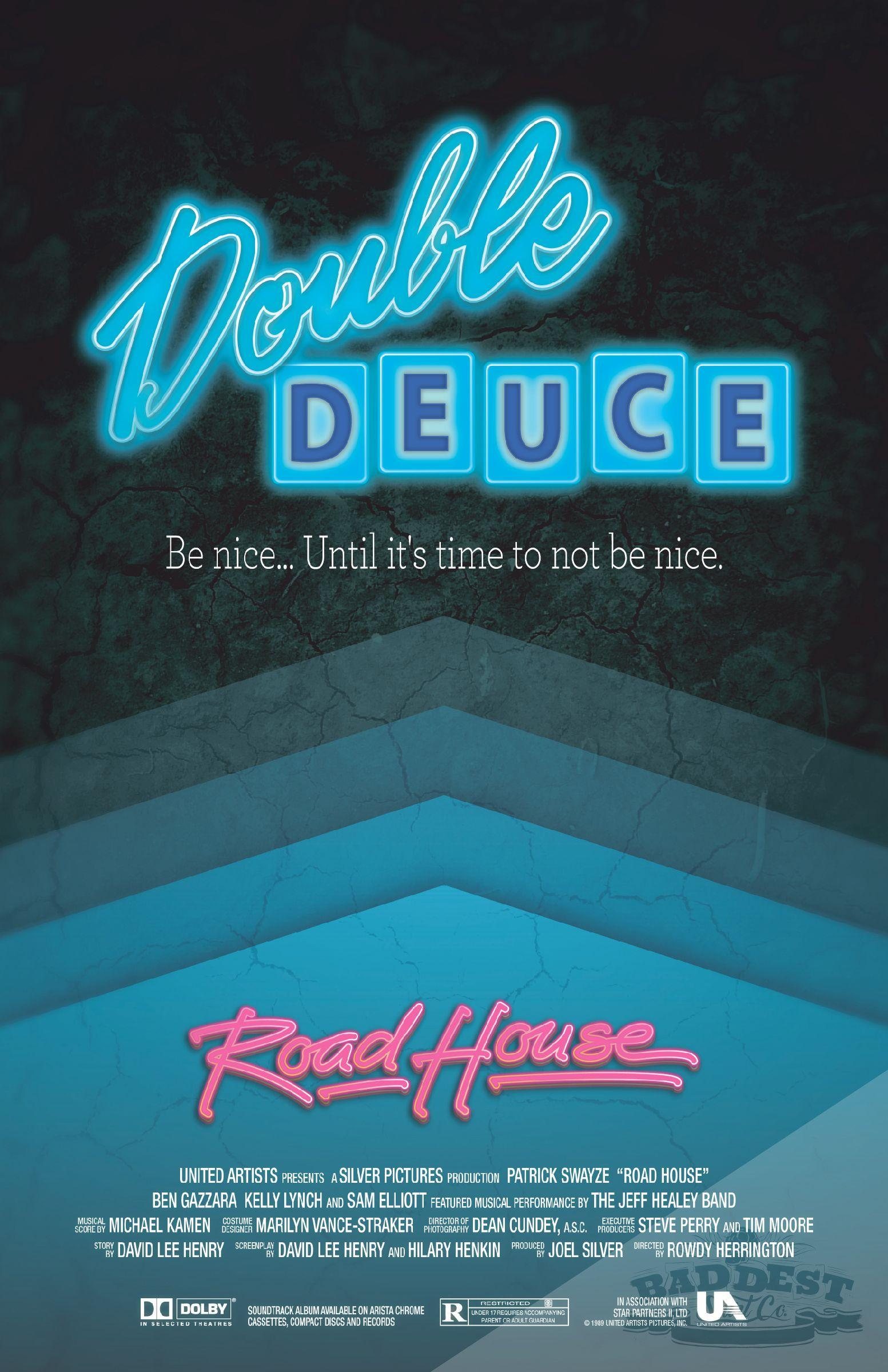 Baddest Shirt Co Presents Road House An Alternative Movie