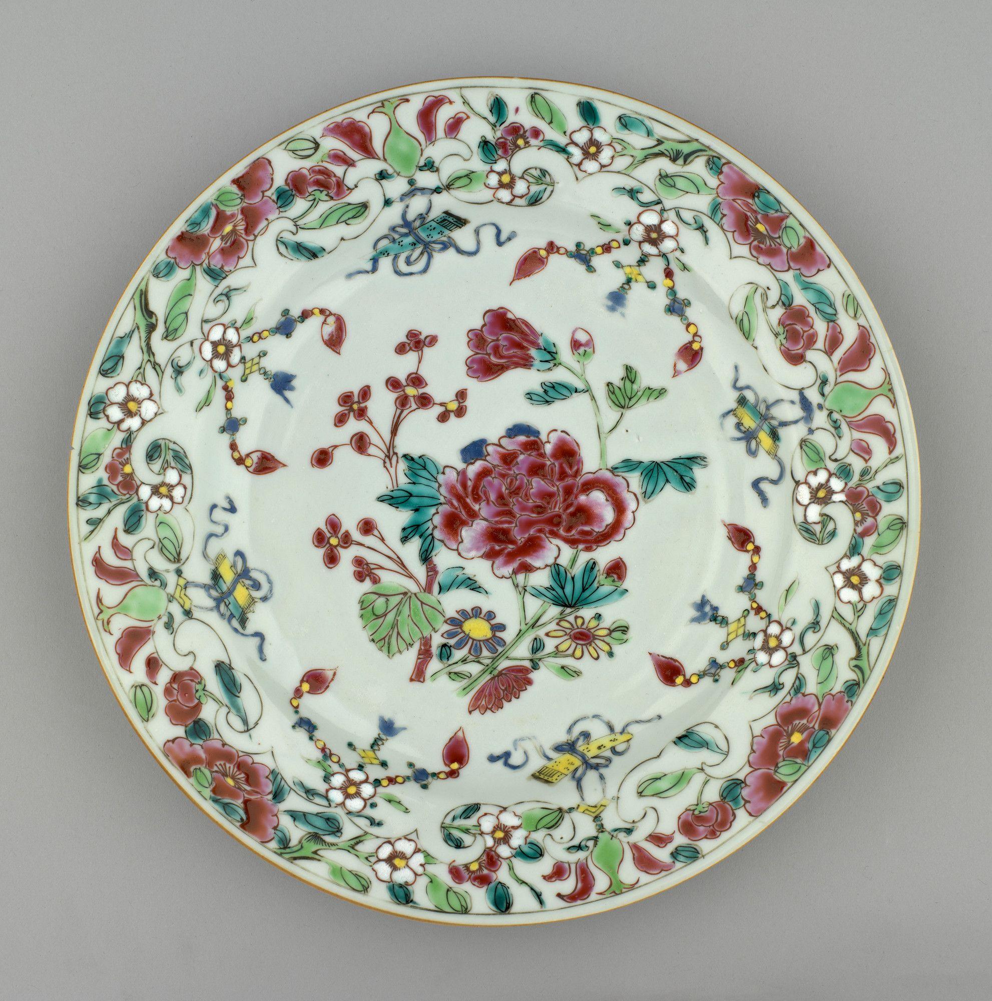 Jingdezhen Jiangxi Province China Set Of Plates Decoracao Antiguidades