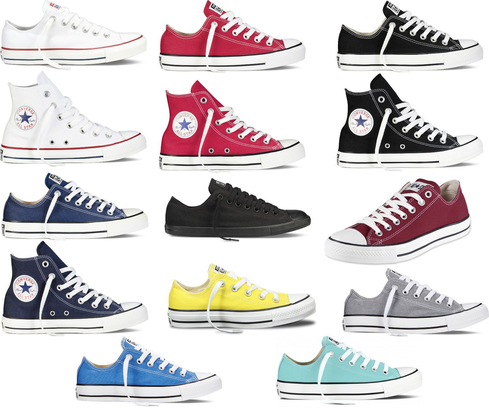 sneakers converse uomo basse