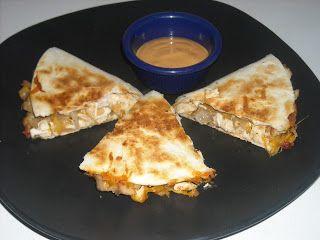 The Thrifty Southern Mom: Ultimate Chicken Quesadillas #pioneerwomannachocheesecasserole