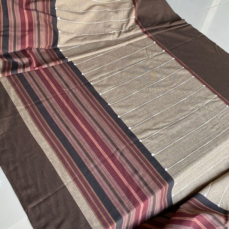 cotton woven The Chiangmai native cotton fabric soft cotton and  slight pattern cotton woven and pretty detial sell by the yards