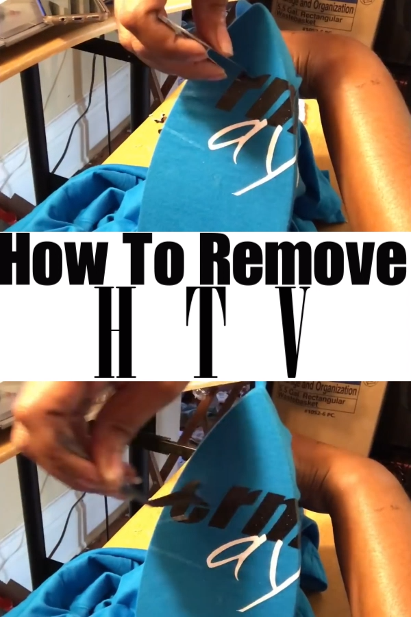 Let me share my tips on how to remove HTV with an iron