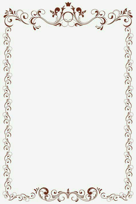 Pin By Naomigavin On Slim Down Drink Clip Art Frames Borders Frame Border Design Page Borders Design