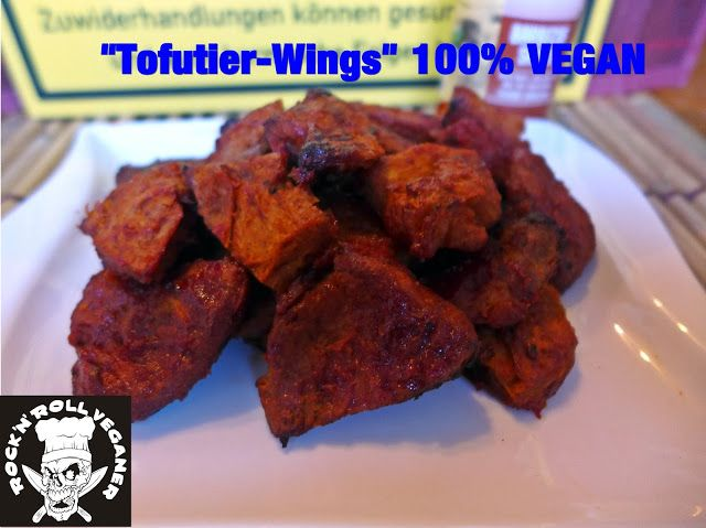 "Tofutier Wings"" kross & knusprig"
