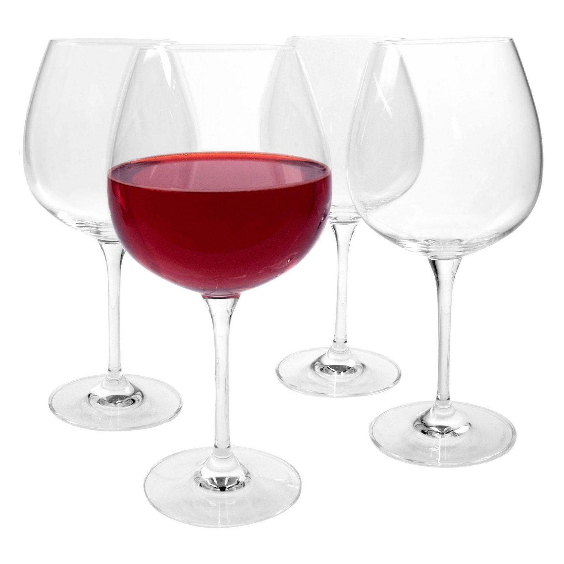 Artland Inc Veritas Burgundy Wine Glasses Set Of 4 66101a Products Wine Wine Glass Set Glass