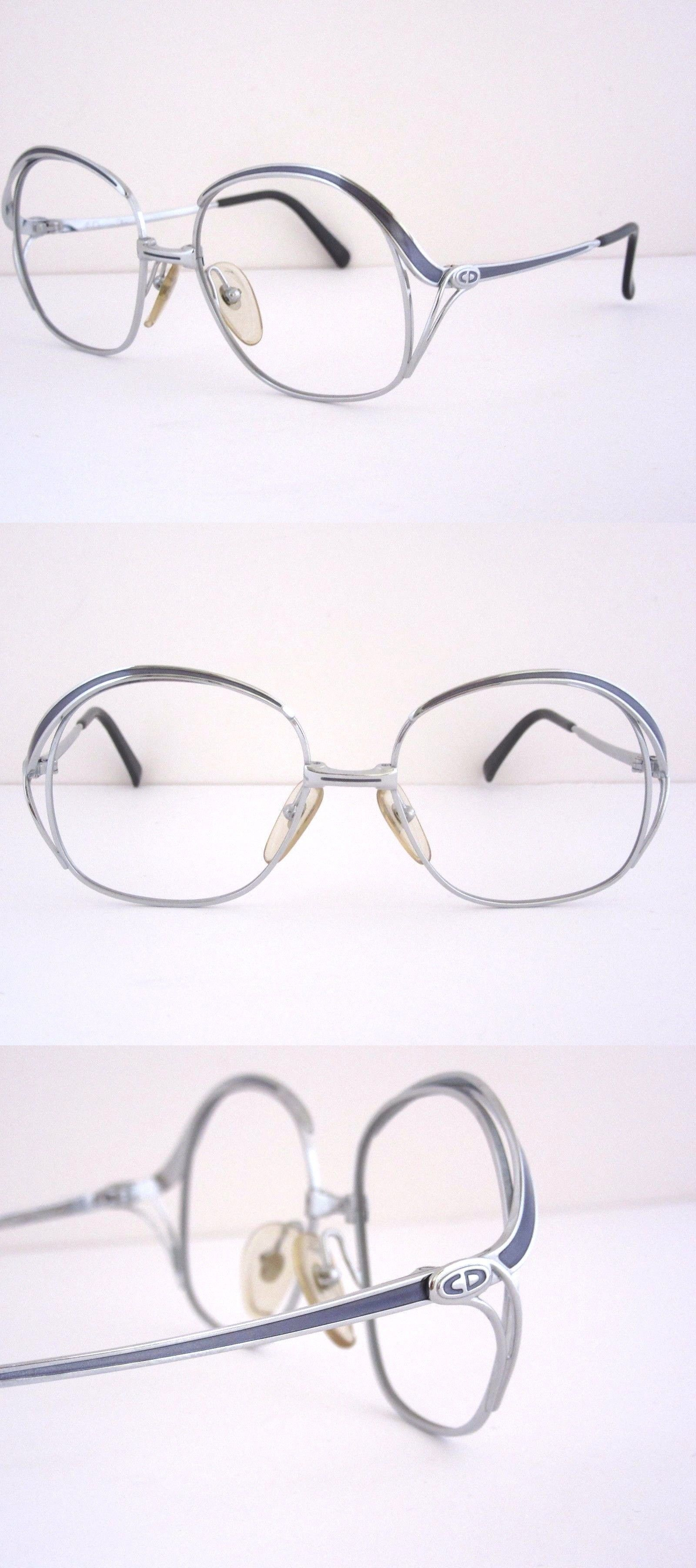 2b587d3614a Sunglasses 48559  Christian Dior 2145 72 Gold Blue Gray Eyeglass Frames