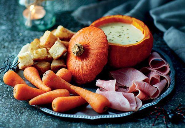 Pumpkin Fondue Cauldron