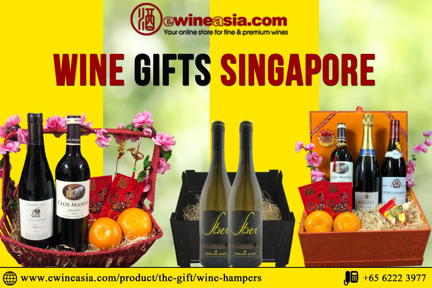 Perfects gifts for wine lovers in Singapore. An ultimate