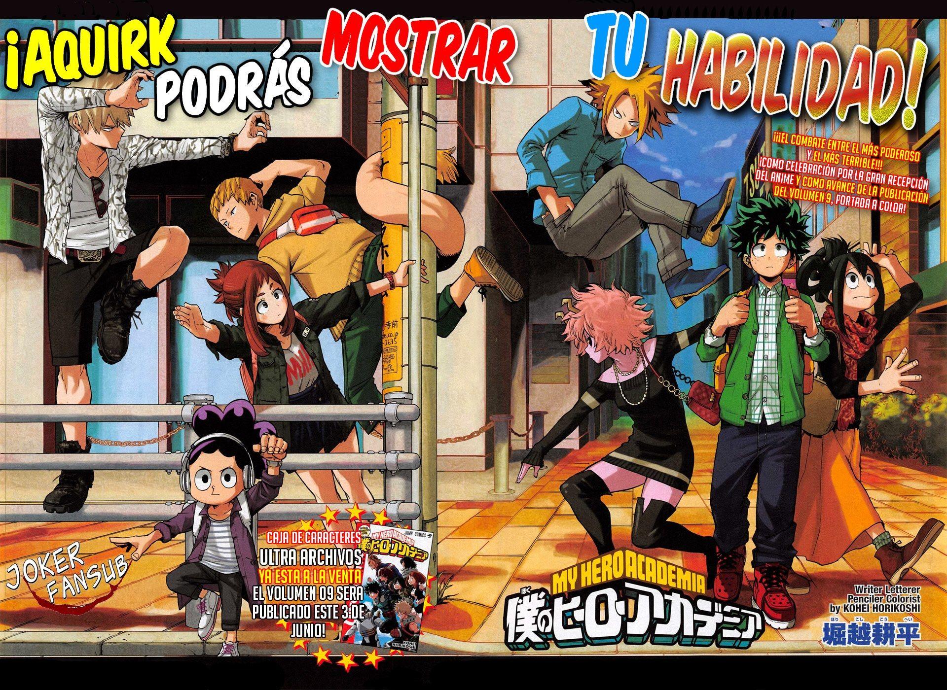 Boku No Hero Academia 91 Jokerfansub With Images Boku No Hero