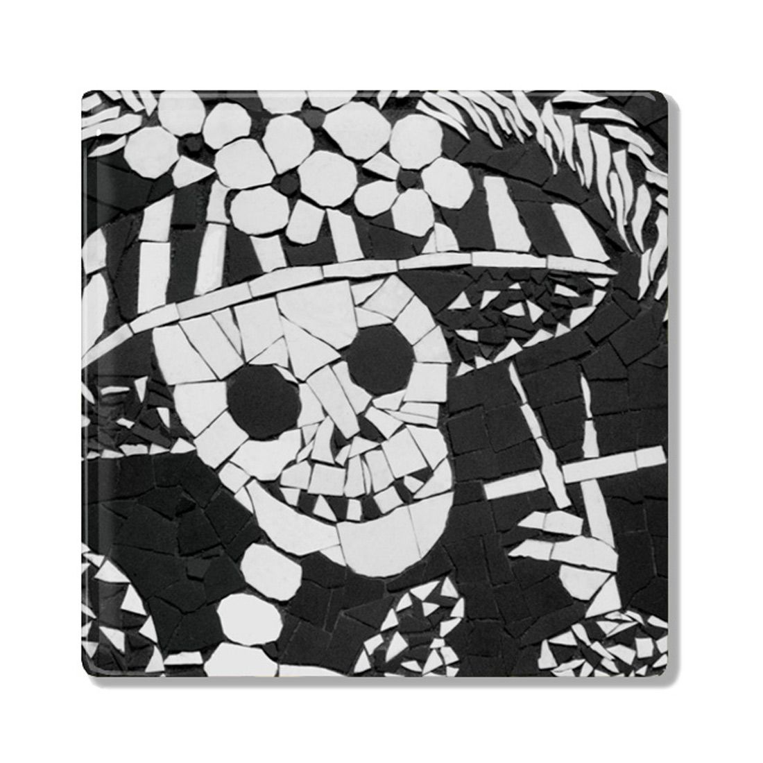 Auntie nana smoking day of the dead skeleton mexican ceramic coaster auntie nana ceramic coaster skeleton smoking sugarskull dayofthedead skulls skeleton dailygadgetfo Choice Image