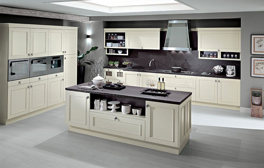 Cucina classica bianca ecco modelli delle migliori marche