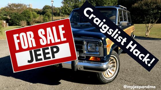 Jeep Wagoneer For Sale Craigslist A Craigslist Hack Four
