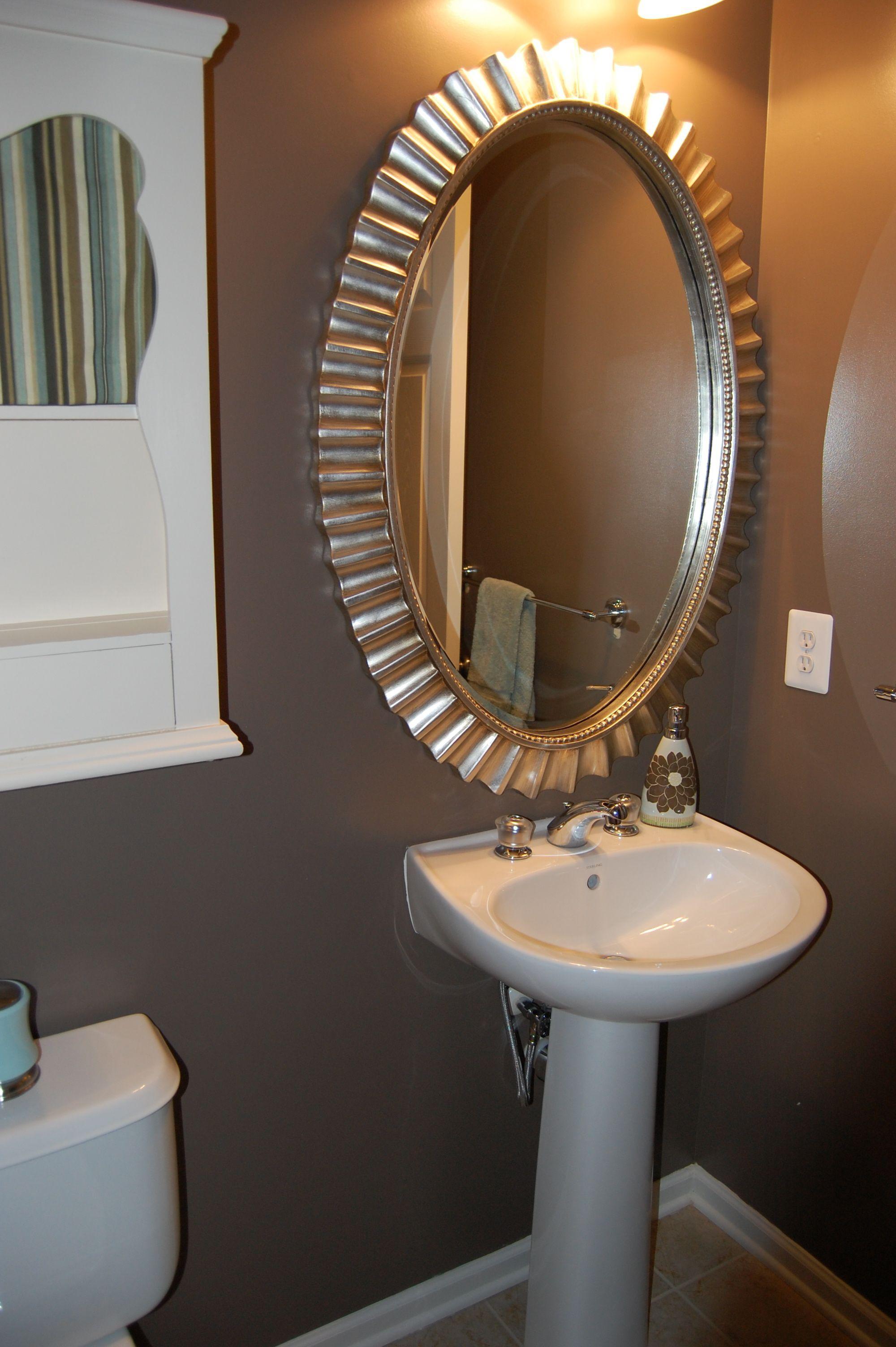 20 Gorgeous Small Powder Room Ideas Pinterest on Small Space Small Bathroom Ideas Pinterest id=28548