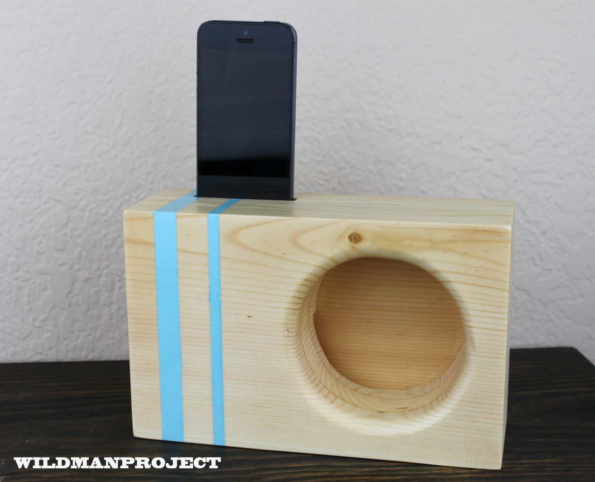 25 Diy Bunk Beds With Plans: Acoustic IPhone Amplifier. Awesome Project!
