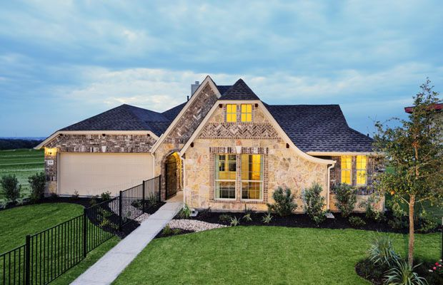 Eclectic Home Exterior Design With Natural Stone New