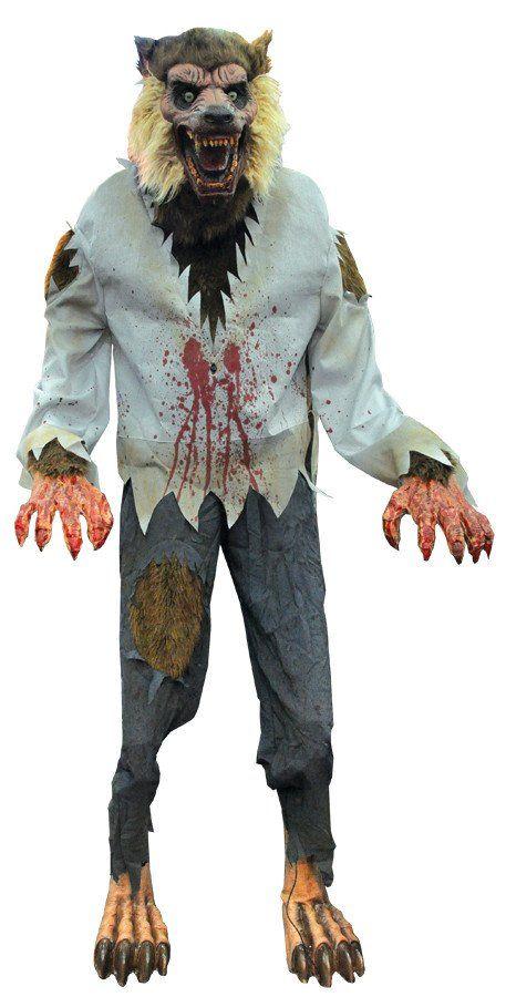 werewolf animated halloween prop halloween decoration more