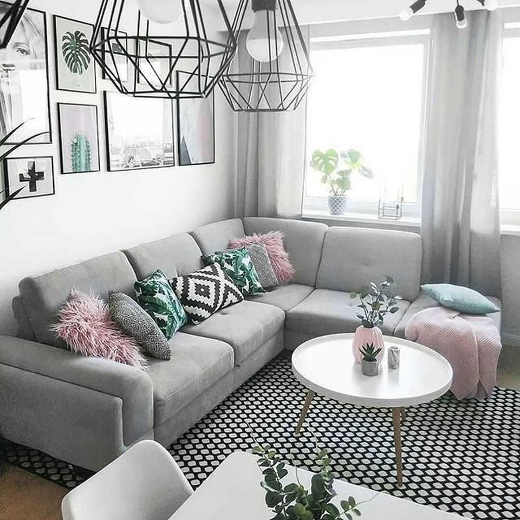 33 Awesome Small Space Living Room Decor Ideas In 2020 Small Living Room Decor Small Space Living Room Minimalist Living Room Decor