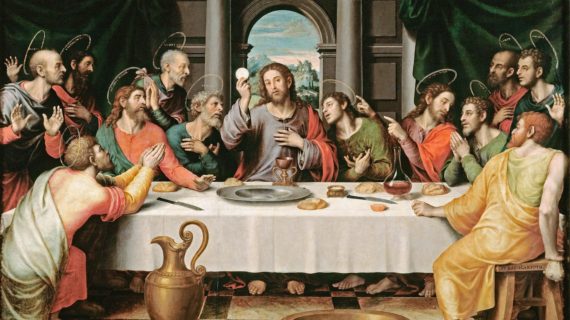 Last Supper 1920x1080 Need Iphone 6s Plus Wallpaper
