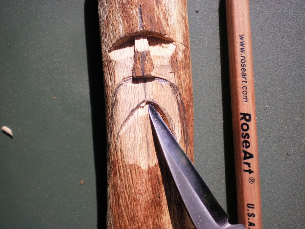 Wood spirit tutorial very pic heavy anleitung zum
